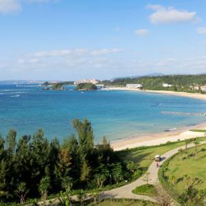 2021年3~4月沖縄旅行4日目③:ハレクラニのプールと福寿しの夕食