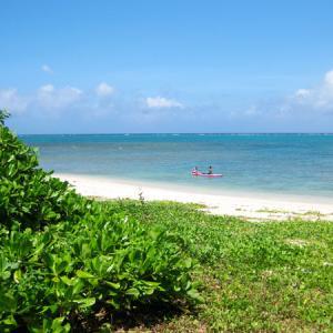 2021年7~8月沖縄旅行3日目②:プール遊びと宇座海岸