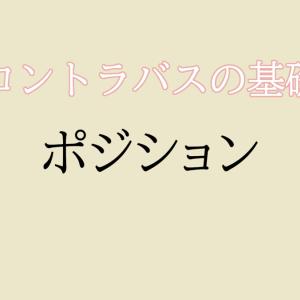 【コントラバス】ポジション / 基本【初心者編】