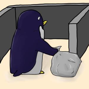【雑記】ゴミとゴミ拾いとペンギン