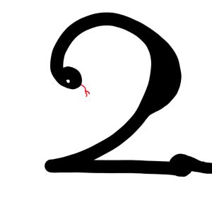 【雑記】2がゲシュタルト崩壊した話