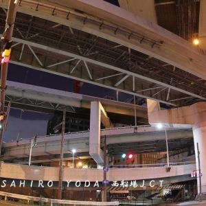都市高速道路の拡幅技術(西船場JCT)大阪市西区