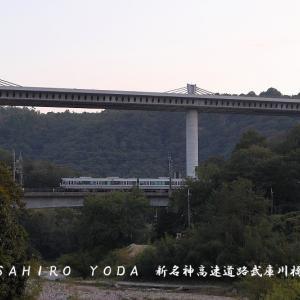 新名神高速道路 武庫川橋(兵庫県神戸市北区)