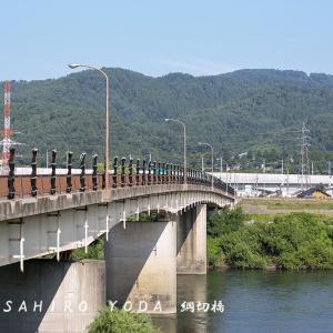 綱切橋(長野県飯山市)