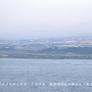 島原港6連橋(長崎県島原市)