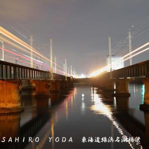東海道本線第二浜名橋梁(静岡県浜松市)