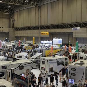 東京キャンピングカーショー2020年(幕張メッセ)
