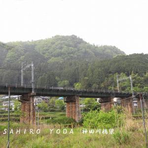 近鉄大阪線 神田川橋梁(奈良県宇陀市)