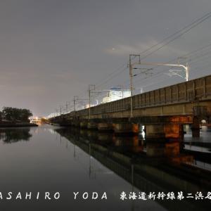 東海道新幹線第二浜名橋梁(静岡県浜松市西区)