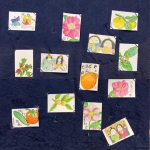 2月の「絵手紙教室」