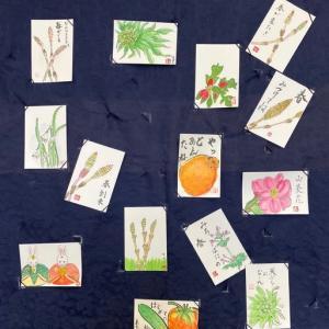 3月の「絵手紙教室」