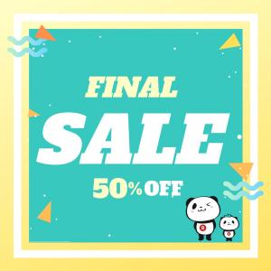【楽天】ラスト5時間半額商品!
