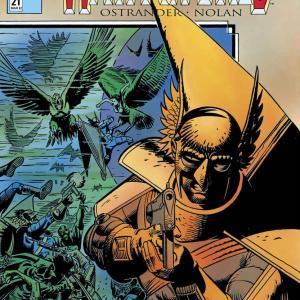 【アメコミ雑記】Hawkworld (1989-1993) #21~#25を読んだ