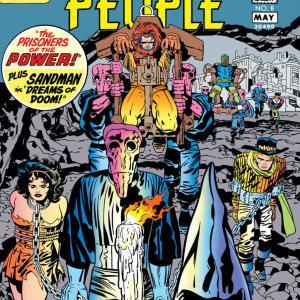"""【アメコミ雑記】The Forever People (1971-1972) """"INFINITY MAN RETURNS!編""""他(#7~#11)を読んだ"""