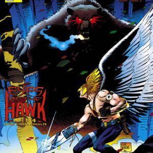 【アメコミ雑記】Hawkman (1993-1996) Eyes if the HAWK編他(#14~#19)を読んだ
