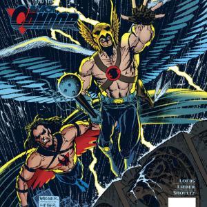 """【アメコミ雑記】Hawkman (1993-1996)""""LION HUNT編""""他(#20~#25)を読んだ"""