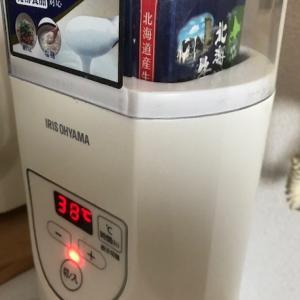 L8020をヨーグルトメーカーで増やそう 飲むヨーグルト半分で1L分作れます