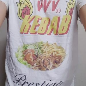 ケバブTシャツシリーズ ー ハイセンスなケバブTシャツ