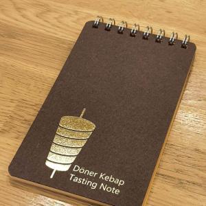 ケバブを食べるとき用のメモ帳を作りました