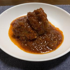 思い出の味 スペイン風豚肉のトマトチリソース煮込み ジャギ