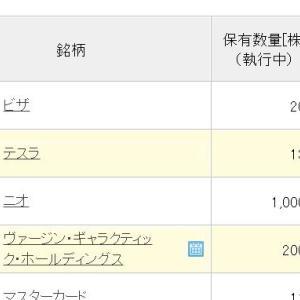 Stock trading history 株取引現状報告