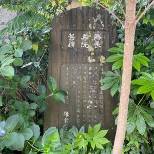 勝長寿院|父「為朝」を弔う為に創建された大寺院(石碑を読む)