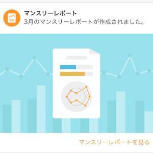 家計簿 2020年3月度(マネーフォワード ME)