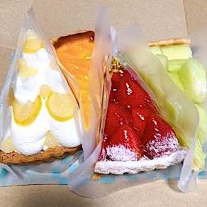 キルフェボン横浜 ずっと食べたかったフルーツたっぷりタルト(肥後グリーンメロン・マンゴーティラミス・いちごタルト)