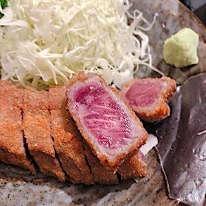 牛かつもと村横浜ジョイナス店で牛かつとろろ定食を食す