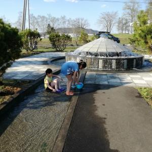 ナウマン公園キャンプ場③まさかの夏日!?の巻 in北海道