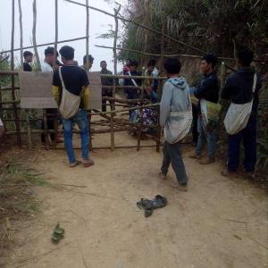 【Today's Laos】地方部での自主的な村落封鎖【コロナ対策】