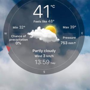 【Today's Laos】気温40℃超えに、驚異の夕立ち。【画像あり】
