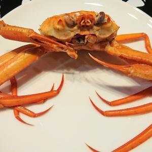 【ズワイ神】蟹を貰ってきてくれたのでちょっとした蟹定食を作って食べたよ。