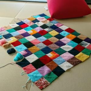 ドミノ編み進捗、パンまつりミッション達成、そして自家焙煎。