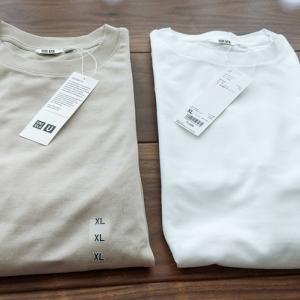 【UNIQLOメンズ】21SSエアリズムコットンオーバーサイズTシャツが初の限定価格になったので購入。【昨年モデルとの比較】