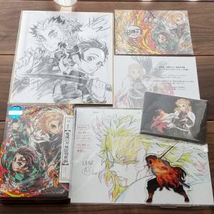 劇場版『鬼滅の刃』無限列車編のDVD&Blu-rayが届いた!!