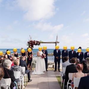 参加したオーストラリアの結婚式