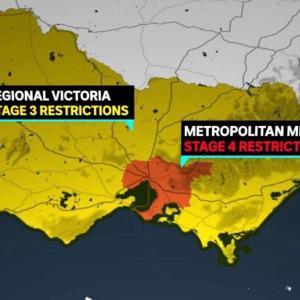ビクトリア州全域で非常事態宣言!