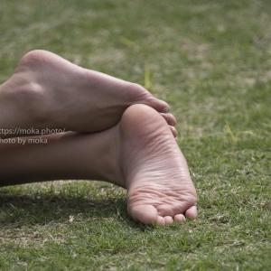 【ポートレート撮影】目の前にいるのは裸足の女神!?
