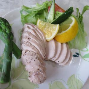 同じ食材もお味変えて (^^) 美味しいね。夕食 ♪