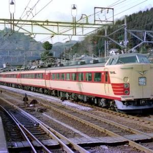横川駅にて489系「白山」を撮影した日!