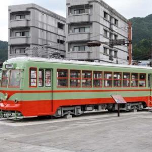東武鉄道日光軌道線109が日光駅前に保存されたので・・・