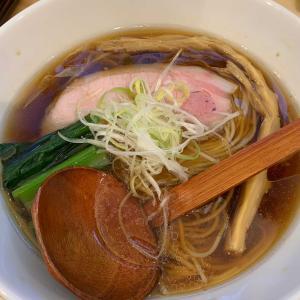 秋刀魚醤油ラーメン