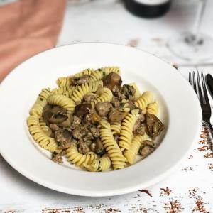 サルシッチャは調味料いらずで簡単パスタ