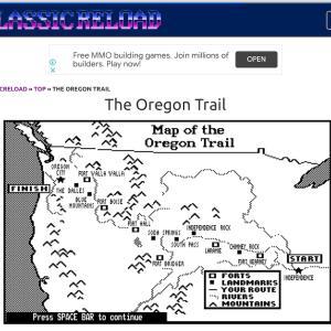 【無料】コンピュータゲーム、オレゴン・トレイルとは