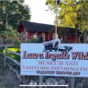 「大草原の小さな家」バーチャルツアーでローラの博物館を見学しました