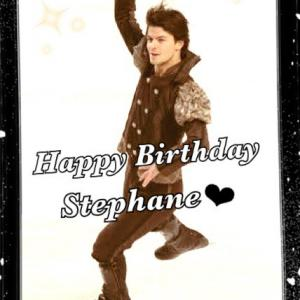 Happy Birthday! Stephane♥
