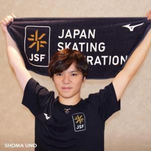 MIZUNO 日本スケート連盟の新エンブレム関連商品