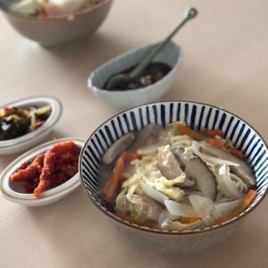 韓国式にゅうめんチャンチグクスレシピ