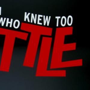 殺し屋に仕立てられた男 『知らなすぎた男-The Man Who Knew too little